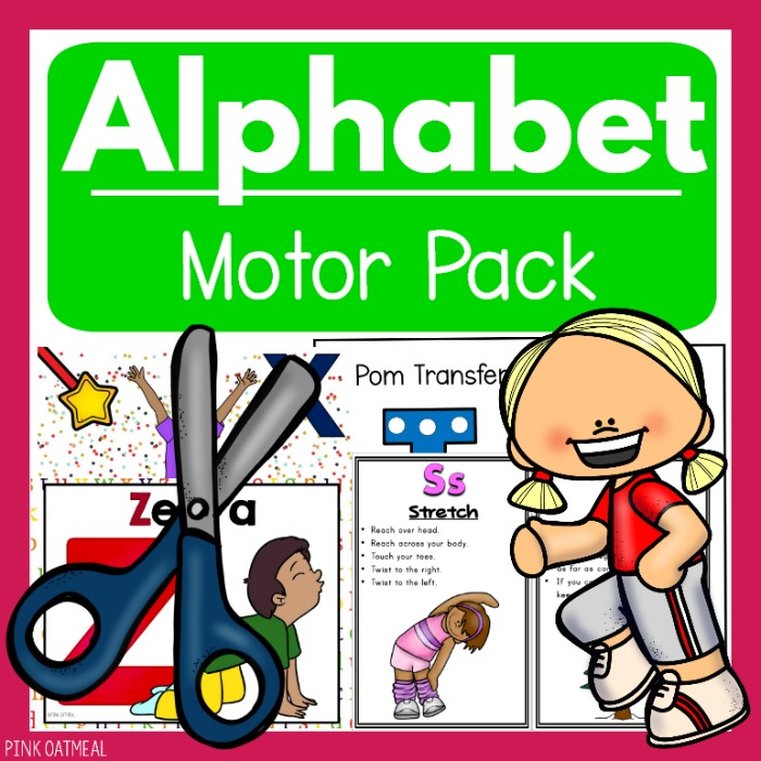 Alphabet Motor Pack