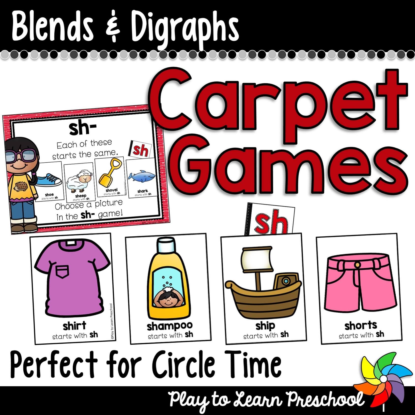 Blends _ Digraphs Carpet Games