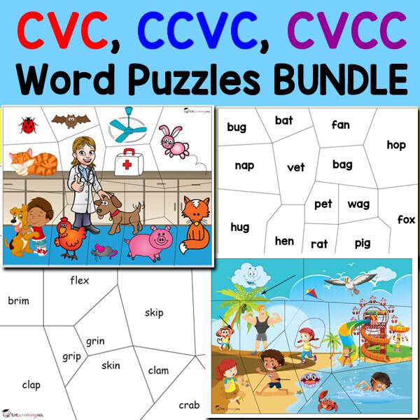 CVC CVCC Word Puzzles main_square