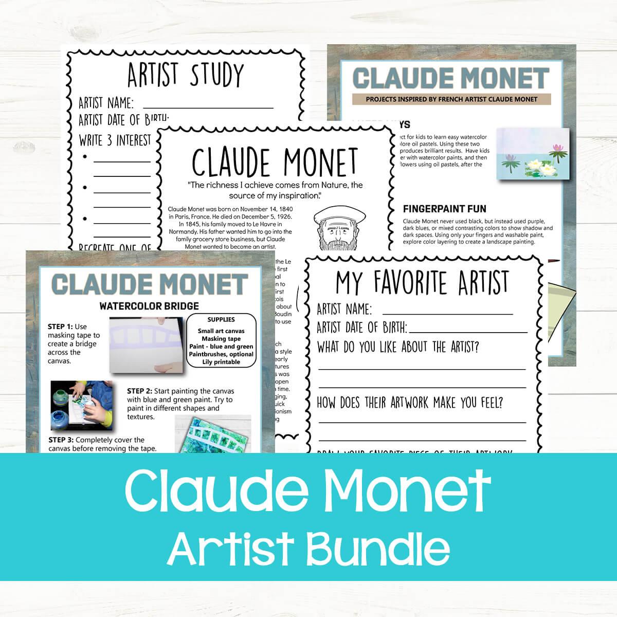 Claude Monet bundle