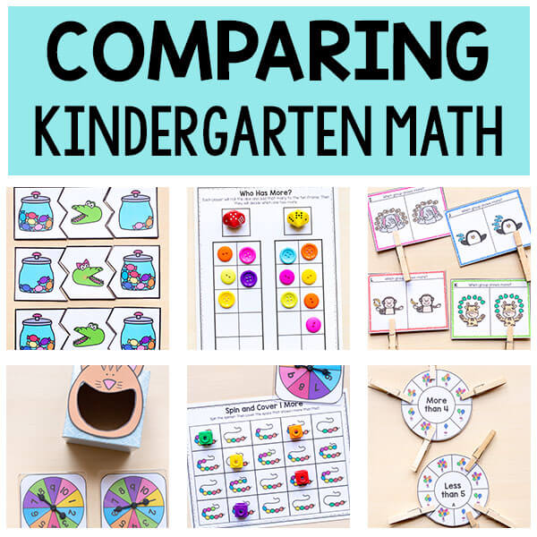 Comparing Numbers TpT