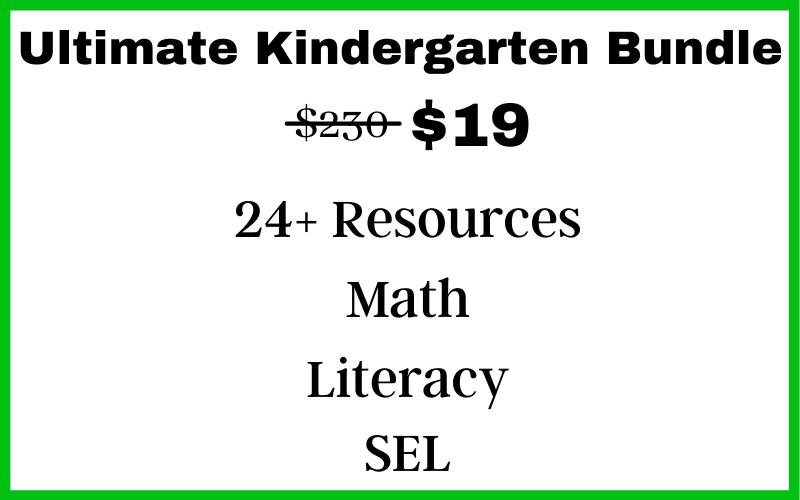 Kindergarten Bundle Price