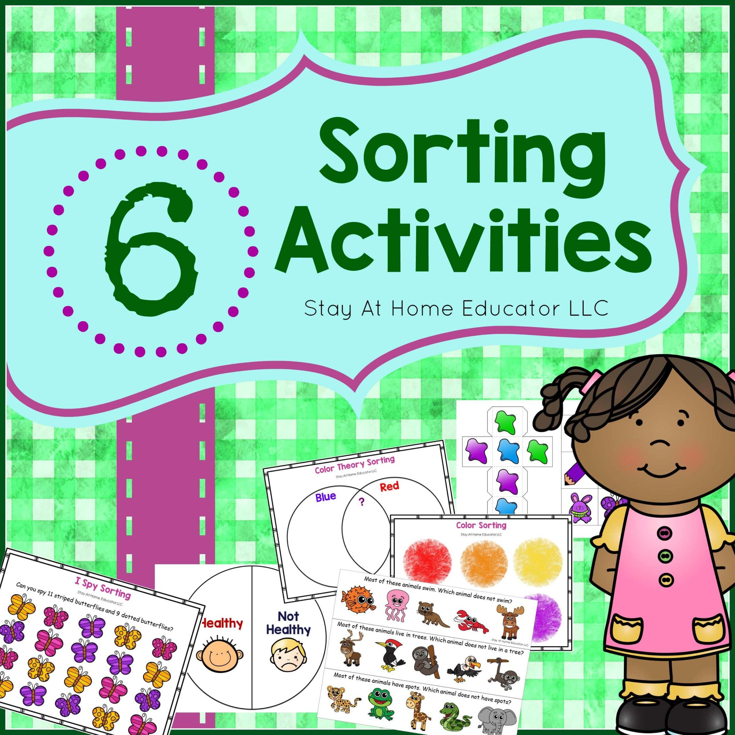Preschool 6 SortingActivities for Preschoolers