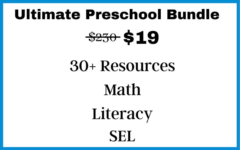 Preschool Bundle Price