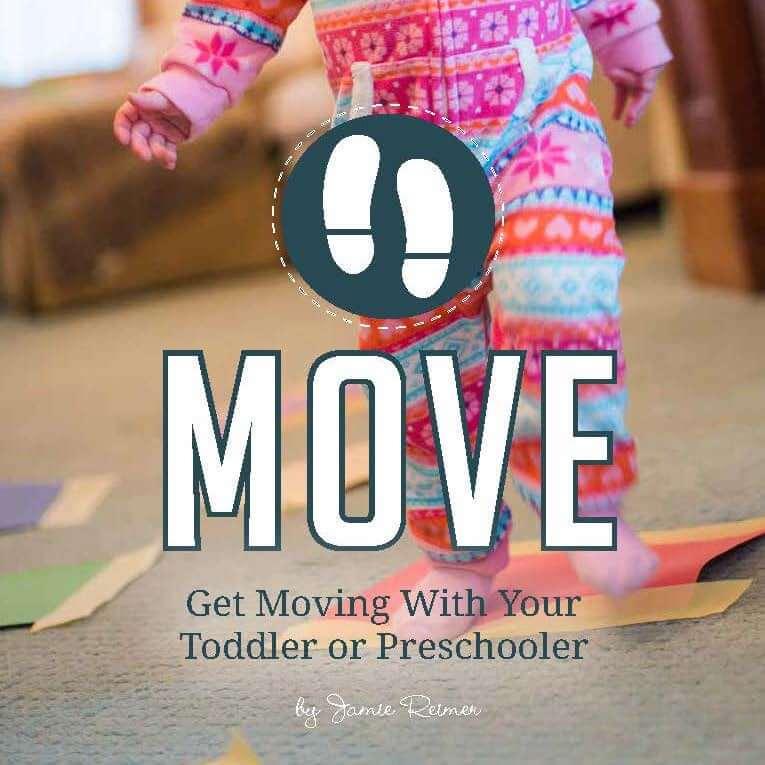 Preschool MOVE ebook SQUARE cover