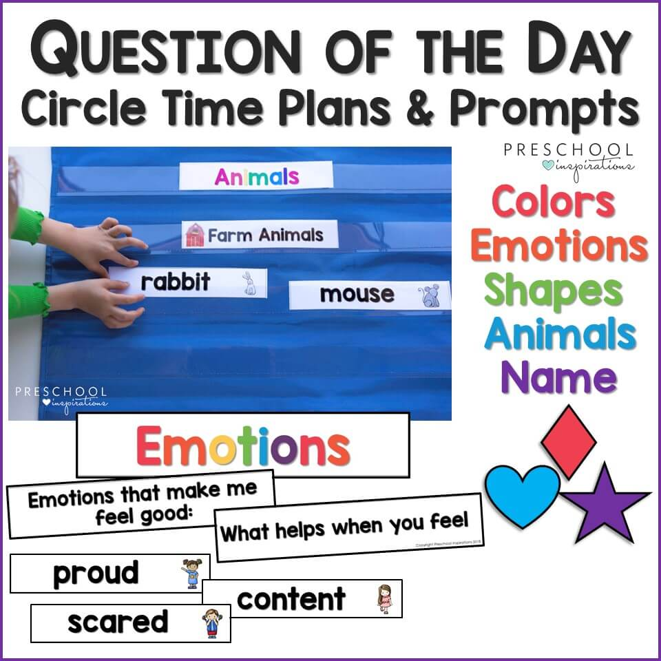 Preschool Question of the Day Cover Preview