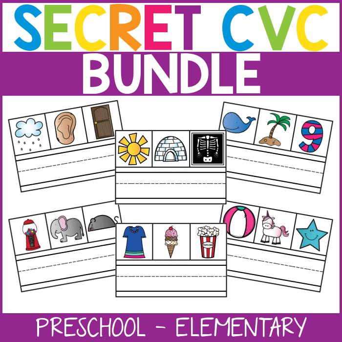 Secret CVC Words BUNDLE