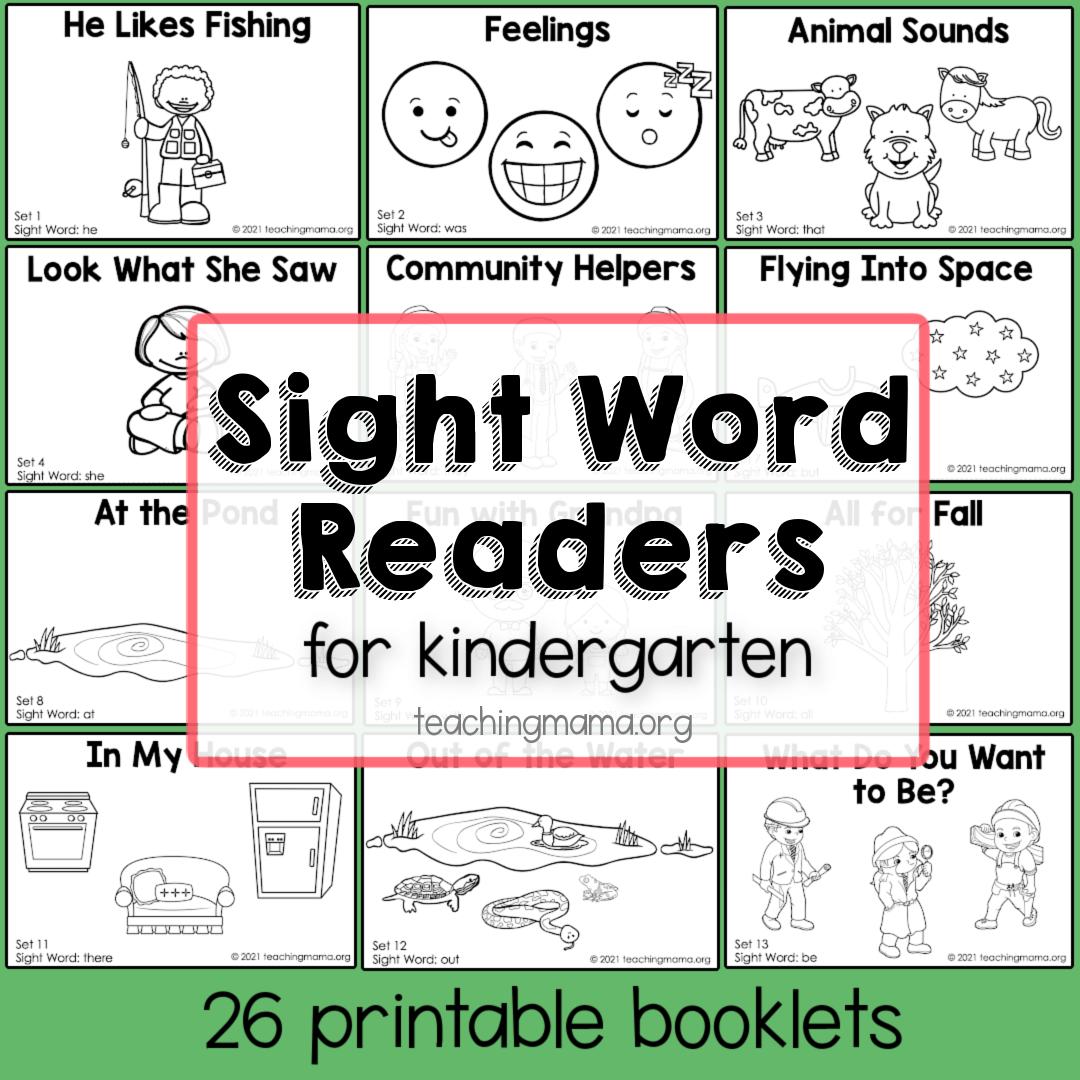 Sight Word Readers - Primer 1