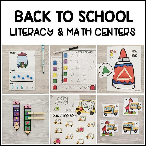 back-to-school-literacy-math-centers-preschool-prek-kindergarten-1a
