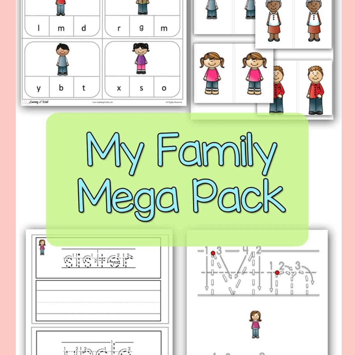 my family mega pack