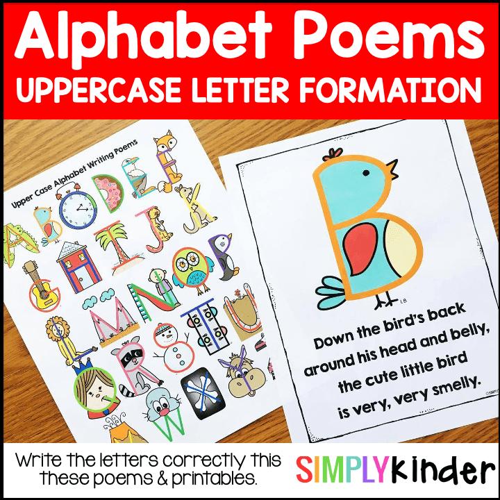 Alphabet Writing Poems