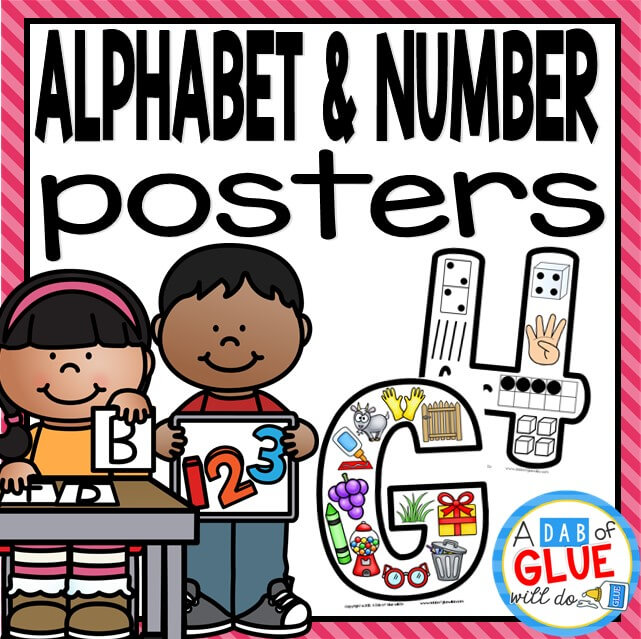 Alphabet and Number Posters Thumbnail