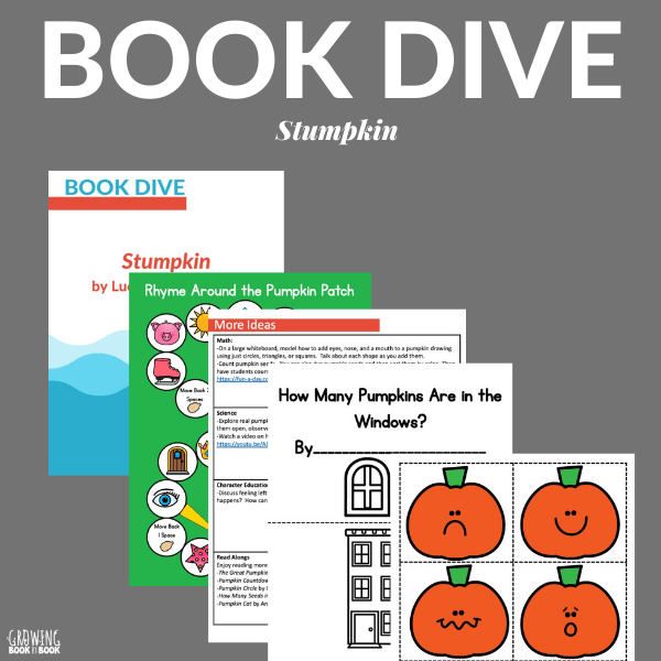BOOK DIVE for Stumpkin from Growing Book by Book