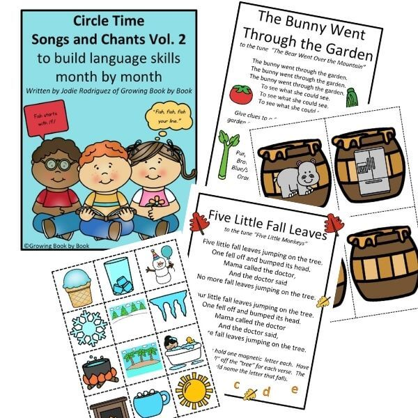 Circle Time Songs and Chants Vol. 2 from Growing Book by Book