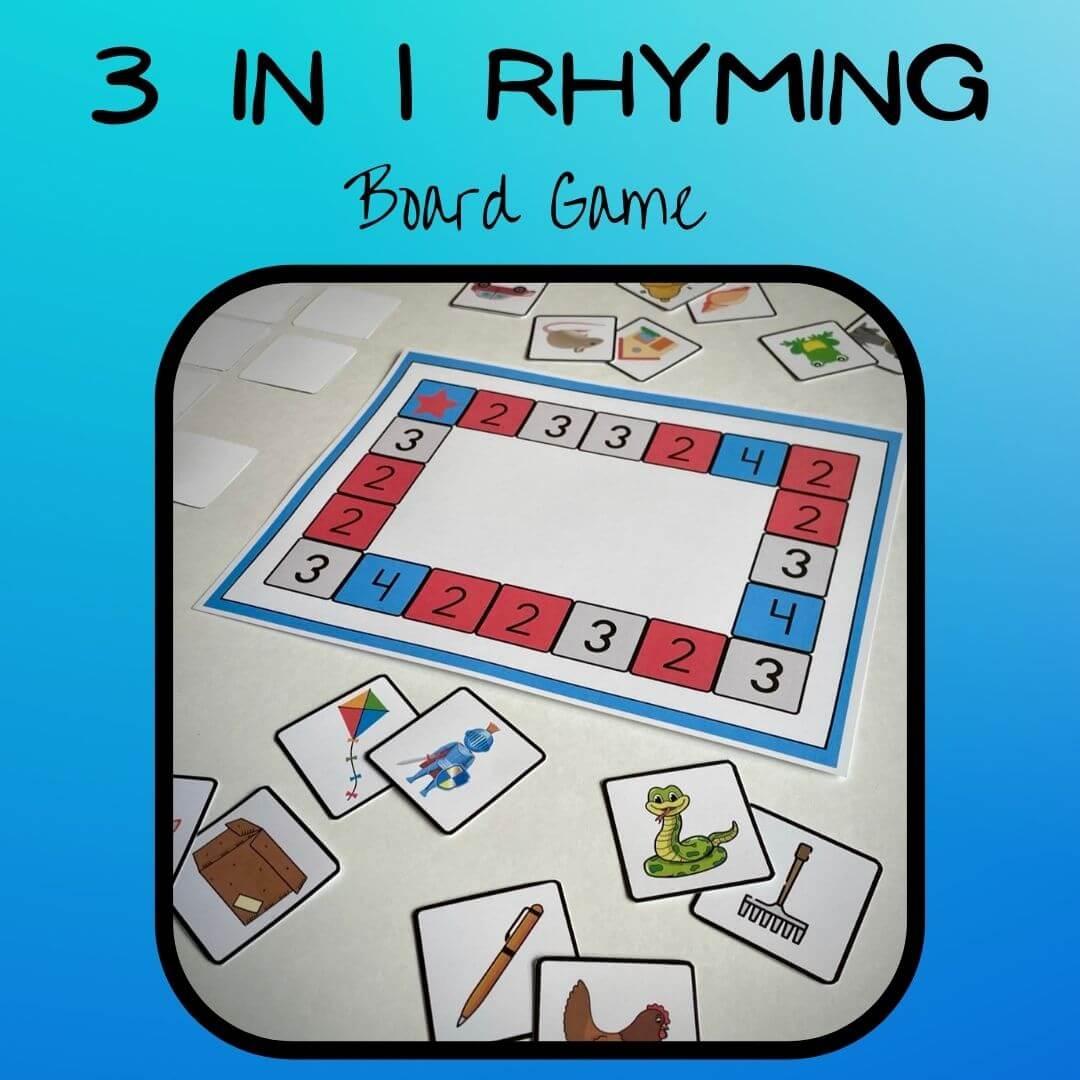 Cooperative Rhyming Game