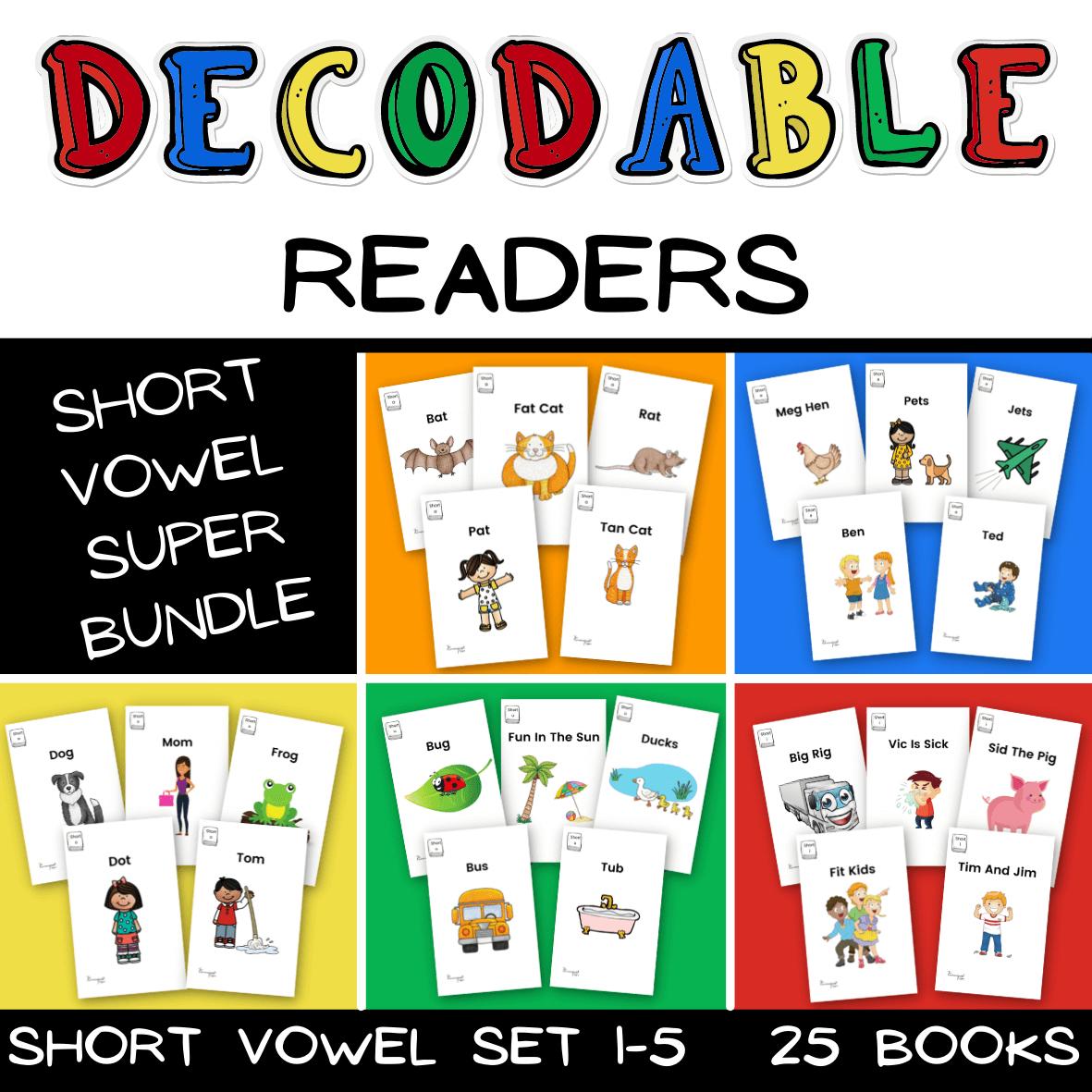 Decodable Reader Bundle Picture