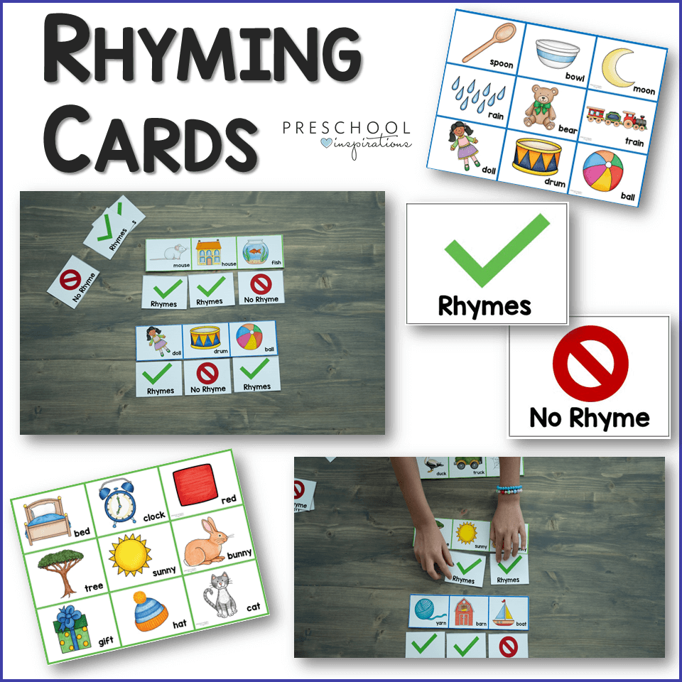 Rhyming Cards Color Preview