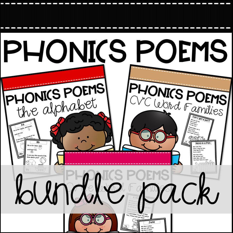 TKC Phonics Poems Bundle