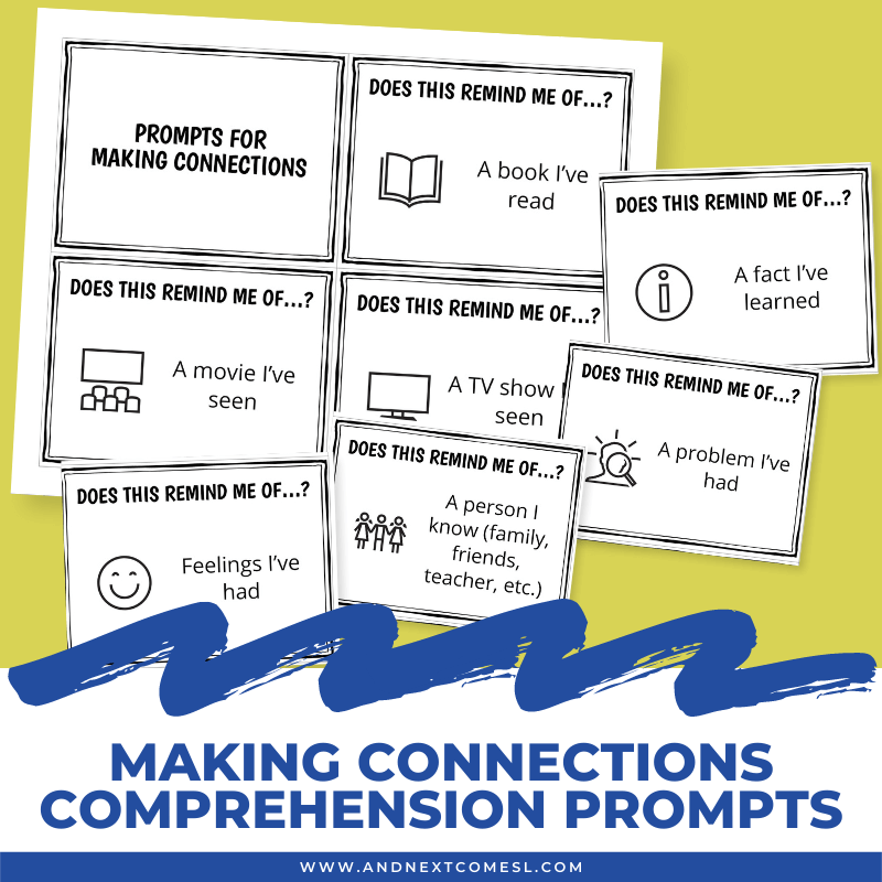making-connections-comprehension-prompt-cards